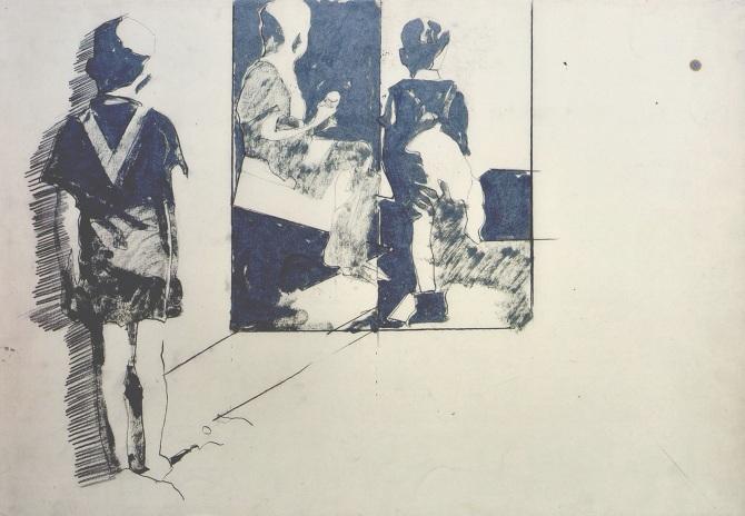 Giosetta fioroni, opera in mostra Milano fino al 30 aprile- artscore.it