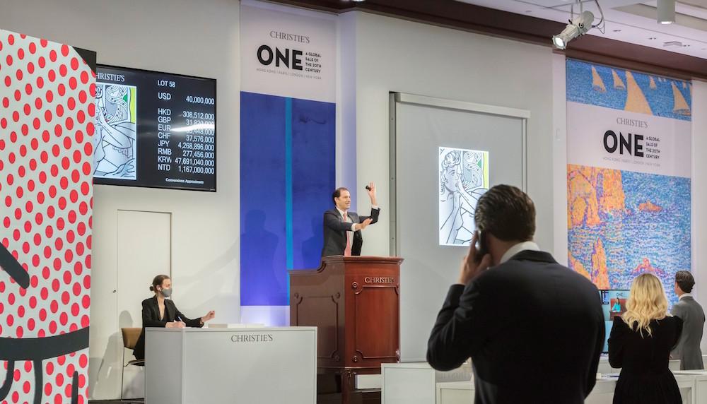 Digitalizzazione e mercato. Asta ibrida di Christie's