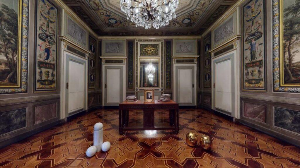 Digitalizzazione e mercato dell'arte. Installation view da Tommaso Calabro