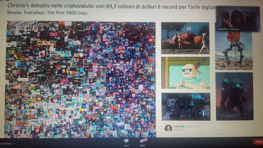 Digitalizzazione e arte. NFT di Beeple da record