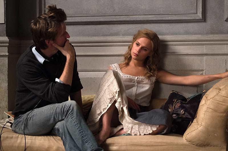 The danish Girl. In scena con il regista Hooper