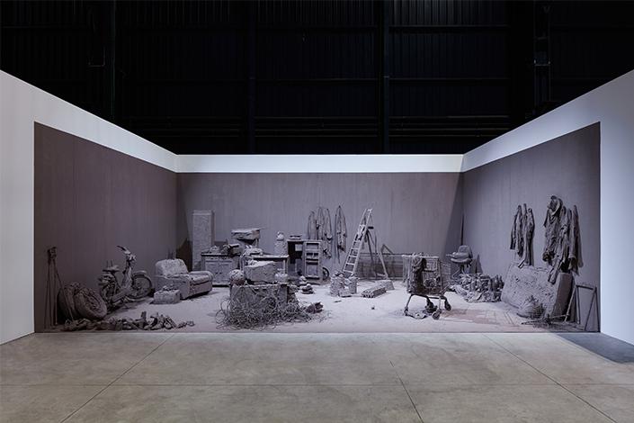 Hangar Bicocca. Chen Zhen, Purification Room